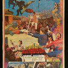 Original Vintage The Warrant of Assassination Thai Movie Poster
