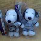 Rare Limited Edition Snoopy Movie Plush Dolls Set of 2 Space Pal 2015 Toy Figure
