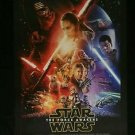 Original Star Wars The Force Awakens 2015 USA Print DS movie poster DS 27x40 in
