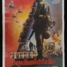 Original  Vintage Hamburger Hill 1987 Thai movie Poster