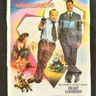 Orig. Vintage Heart Condition Thai Movie Poster Eddie Murphy