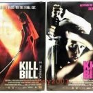 Orig Kill Bill Vol 2 DS movie poster Thai Ver Set of 2 The Bride Uma Thurman