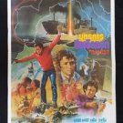 Orig. Vintage The Uranium Conspiracy 1978 Thai movie Poster No Blu Ray