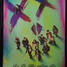 Orig. Suicide Squad USA DS Movie Poster 27x40 Intl  3D Will Smith Jared Leto