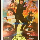 Orig. Vintage Kung Fu 4 Chinese Thai Movie Poster Shaw Brothers