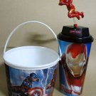 Captian America Civil War Topper Action Figure Toy Cup Popcorn Tub Iron Man