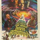 Original The Light at the Edge of the World 1971 Thai Movie Poster  Jules Verne