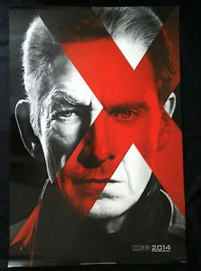 X men  Xmen 2014 Days of Future Past Movie Poster DS 27x40 Magneto Int Style
