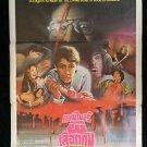 Orig Vintage Martin Wampyr 1977 Thai Movie Poster George A Romeo
