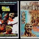 Dawn of the Dead 1978 Zombi + Lucio fulci Thai Movie Poster Horror George Romeo
