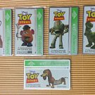 Toy Story BT Phone Card 5 Different Used UK