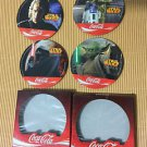 Star Wars Episode III Revenge of the Sith 2005 Set of 4 Coke Coaster