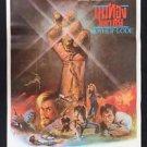 Rare Vintage Mother Load 1982 Thai Movie Poster  Charlton Heston Kim Basinger