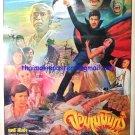 Ori Vintage  Dracular Thai Movie Poster Horror Cult Movie No DVD Blu Ray