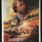 Dances with Wolves 1990 Thai movie Poster Kevin Costner Oscar Norminee