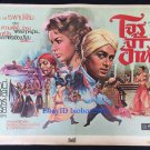 The Prince who was a Thief 1951 Thai Movie Poster Tony Curtis