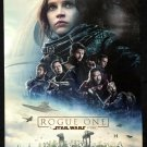 Orig  Rogue One A Star Wars Story DS Movie Poster 1 Sheet 27x40 Darth Ray Anakin