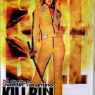 Orig Kill Bill Vol 1 DS Thai Movie Poster 27x40 Quentin Tarantino Bride Thurman