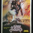The Blood of Heroes AKA Salute Jugger 1989 Thai Movie Poster Rutger Hauer 90'