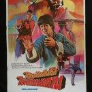 Dreadnaught 1981  Thai Movie Poster Kung Fu Martials Art  Yuen Biao Martials Art