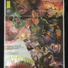 Orig. vintage The Head Hunter 1982 Thai Movie Poster Chow Yun Fat