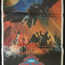 Godzilla Invasion of Astro Monster Thai Movie Poster Horror Cult No DVD Blu Ray