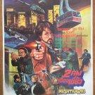 Nighthawks 1981 Thai Movie Poster Sylvester Stallone