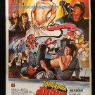 Knockabout 1979 Thai Movie Poster Sammo Hung Yuen Biao Kung Fu No DVD Blu Ray