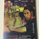 Shaw Brothers Heroes Two Shaw Brothers DVD 1974 Region 3 DVD Movie Kung Fu No Poster