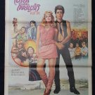 Original Valley Girl 1983 Thai Movie Poster Nicolas Cage, Deborah Foreman