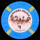 $1 Dollar Caesars Palace Hotel Casino Chip LAS VEGAS NV