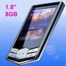"1.8"" LCD 8GB MP3 MP4 Player FM Radio USB Disk"
