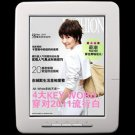 8 inch Touch Screen eBook Reader 4GB 720P MP3/MP4 Player with Leather Case