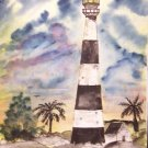 Cape Canveral Lighthouse limited edition print