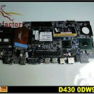Laptop motherboard for DELL D430 100% tested windows 7 laptop mainboard free shipping
