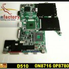 Laptop motherboard for DELL D510 100% tested windows 7 laptop mainboard free shipping