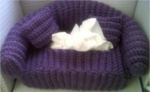 Crochet Deluxe Tissue Box Cover