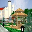 3D Garden Pavilion