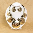 Brass & Copper Elephant Jewelry Set