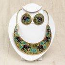 Empress Necklace & Earring Set: Elephant