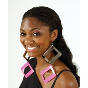 Set Of 12 Over-Sized Rectangle Earrings