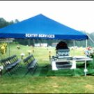 Hill and Lawn Tent