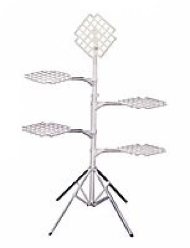 """""""O-4"""" Basket Display Stand - 4 """"0-1"""" Attachments"""