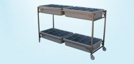 Four Tray Flower Cart