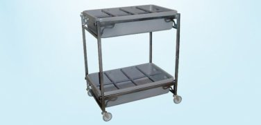 Two Tray Flower Cart