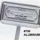 Aluminum #700 Grave Markers