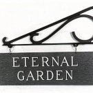 Cemetery Section Sign (Rustic)