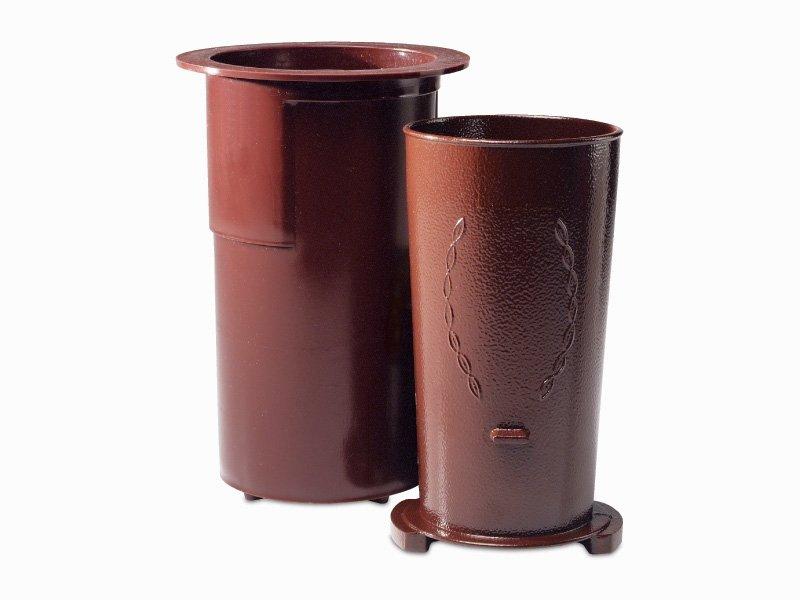 Spartan Series Vase/Case (ground level)-Bronze-Dozen