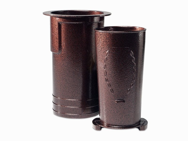 Spartan Series (Vase & Case Finished)-Brown-Individual