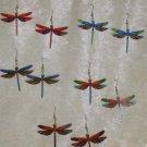 Dragonfly Earrings Acrylic Long Drop Earrings many colors